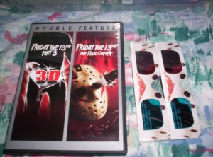 Friday the 13th Part 3 and 4 DVD 2-pack (with 3D glasses)